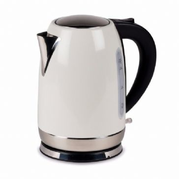 Kampa Dometic Tempest 1.7L Stainless Steel Electric Kettle - Cream